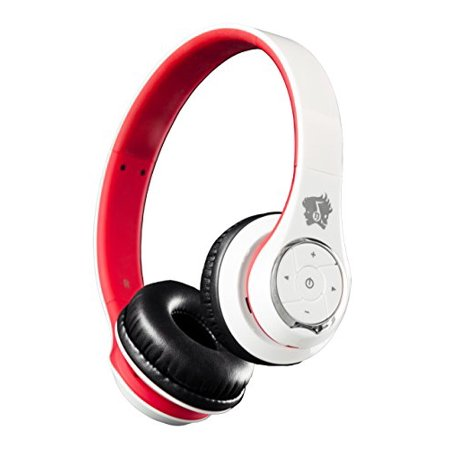 life n soul bn301 wr headset stereo white red wireless bluetooth 3. Black Bedroom Furniture Sets. Home Design Ideas