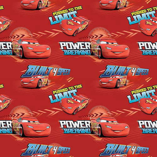 Springs Creative Disney Cars Built 4 Speed Fabric by the Yard