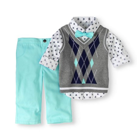 3dacfd2bf905 Healthtex - Baby Boys  Sweater Vest