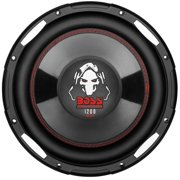 Boss Audio P100F Phantom - 10 inch SINGLE Voice Coil (4 Ohm) 1200-watt Subwoofer (Each)