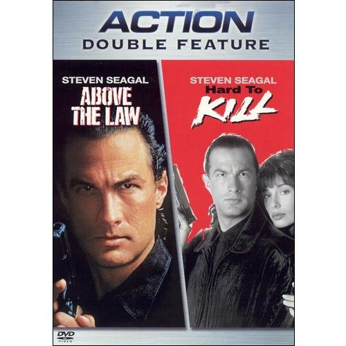 Action Double Feature: Above The Law / Hard To Kill (Full Frame)