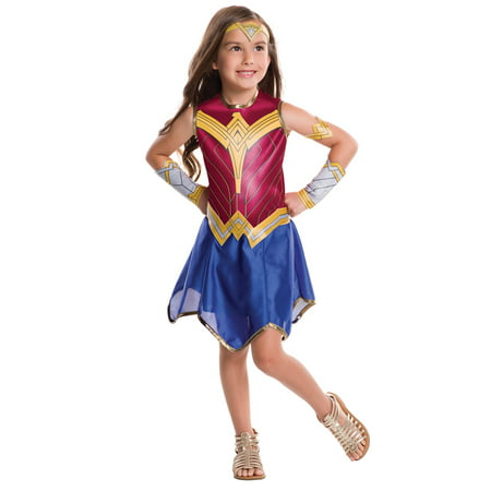 Batman V Superman: Dawn Of Justice - Wonder Woman Costume for Kids - Costumes For Comicon
