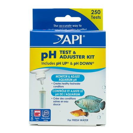 Image of API pH Test & Adjuster Kit, Aquarium Water pH Test And Adjuster Kit, 1-Count