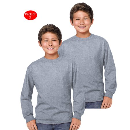 d86cd3dfaa32 Hanes - Hanes Youth Comfort Soft  TAGLESS  Long-Sleeve T-Shirt ...