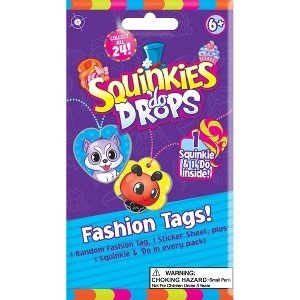 Squinkies Do Drops Fashion Tags 4 Blind Packs