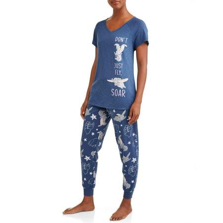 f0cbe6976a Women s and Women s Plus Dumbo T-shirt Pajama Pant Set