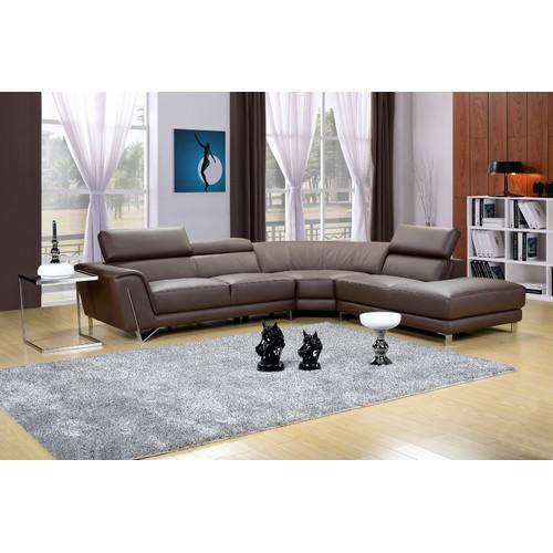 Hokku Designs Dela Sectional by Marthena Home Furnishings Inc.