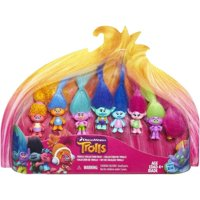 Dreamworks Trolls Movie Collection Pack (8 Mini Trolls), 1.25 Inches