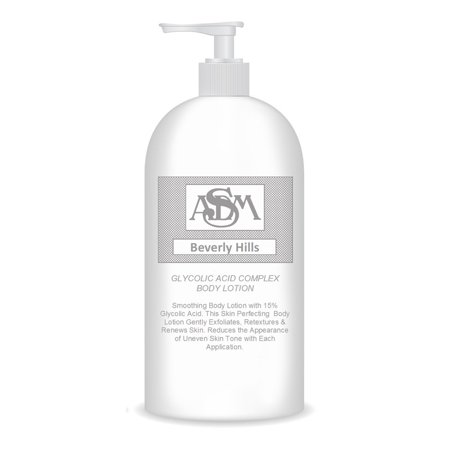 ASDM Beverly Hills Glycolic Acid Complex Body Lotion 16oz