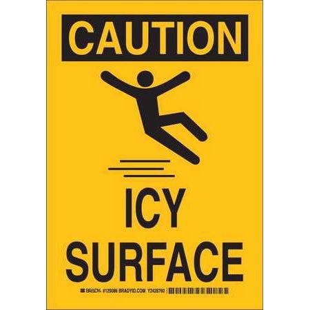 Caution Sign  Brady  129084