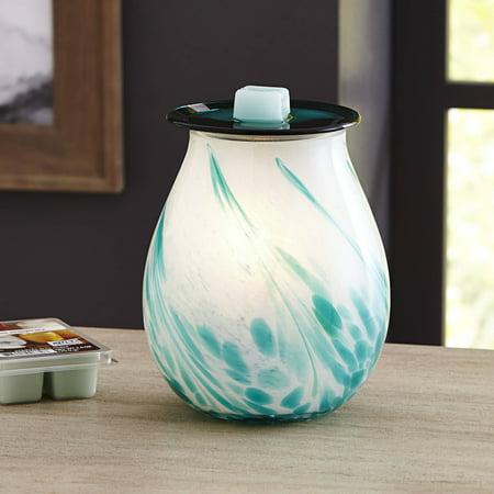 Better Homes & Gardens Full Size Opal Art Glass Scented Wax Warmer
