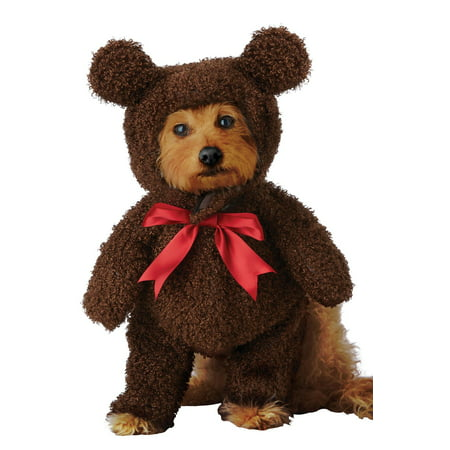 Homemade Teddy Bear Halloween Costume (Sweet Teddy Bear Pet Costume)