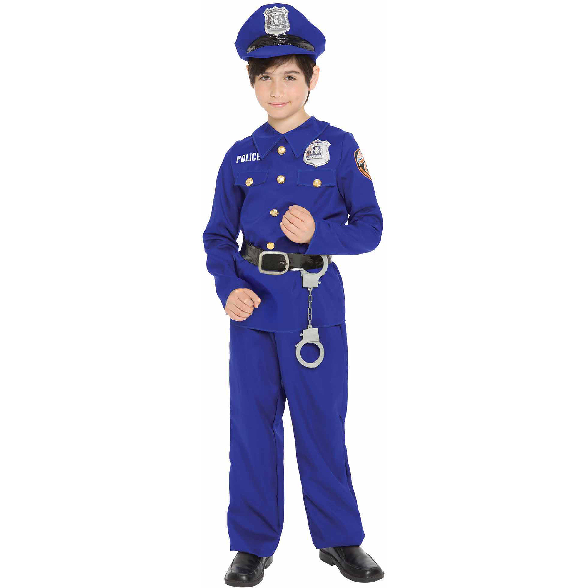 Police Officer Child Halloween Costume  sc 1 st  Walmart & Police Costumes