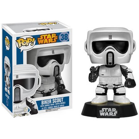Funko Pop! Star Wars Biker Scout Vinyl Bobble Head