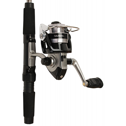Daiwa Minispin System Travel Spinning Fishing Rod & Reel Combo Kit - MINISPIN