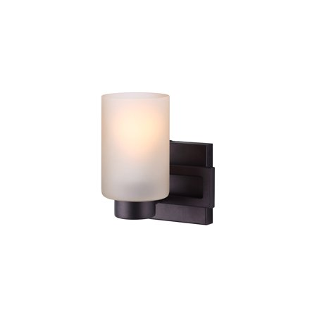 Bathroom Vanity 1 Light Fixtures With Oil Rubbed Bronze Finish A Bulb 7 100 Watts