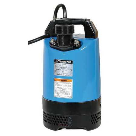 Submersible Dewatering Pump,1 HP,115V Tsurumi LB-800 by Tsurumi