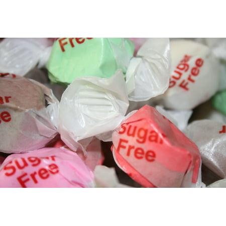 BAYSIDE CANDY SWEETS SUGAR FREE SALT WATER TAFFY ASSORTED, 1LB (Ingredients In Salt Water Taffy)