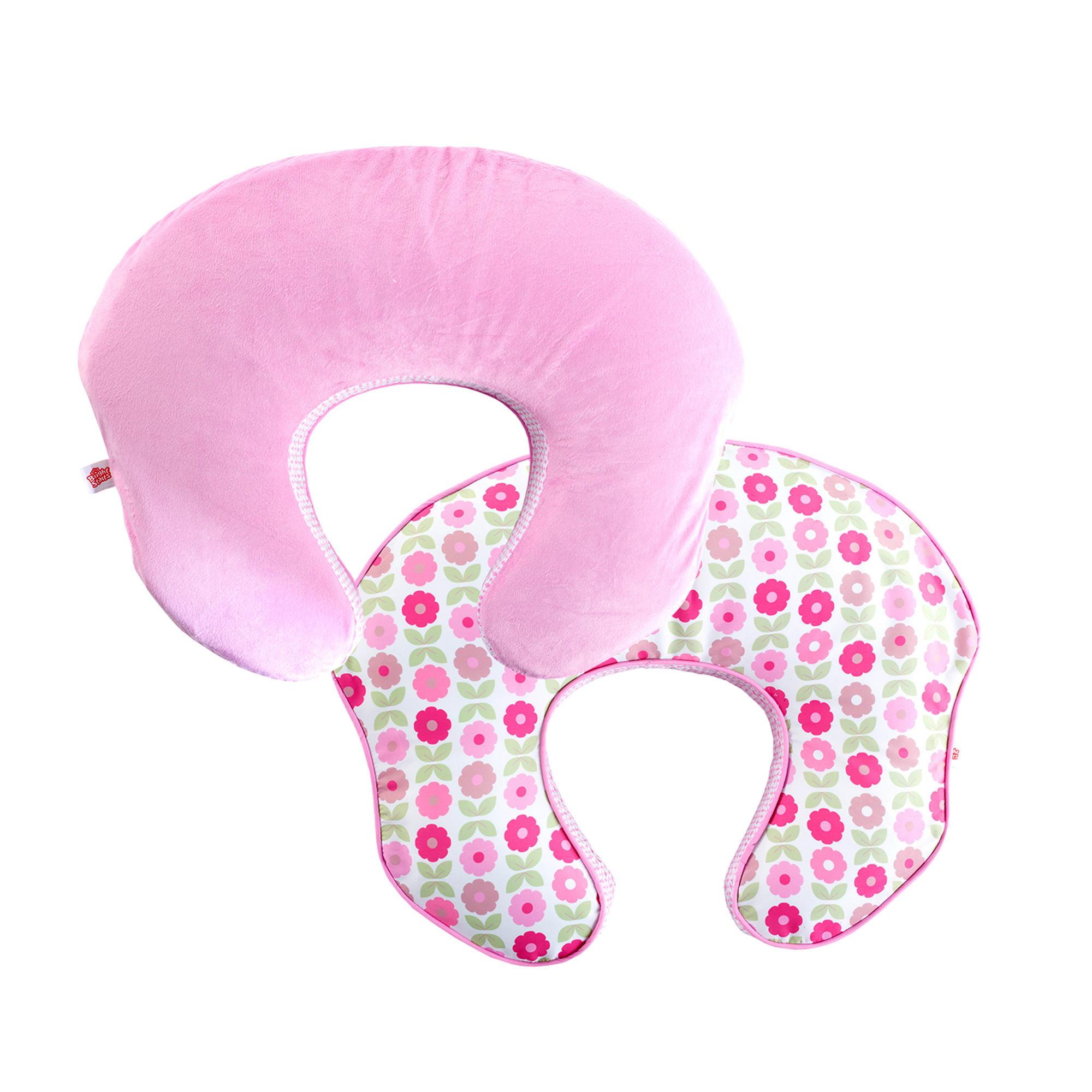 Comfort & Harmony mombo Deluxe Nursing Pillow Slipcover - Blush 'n Bloom