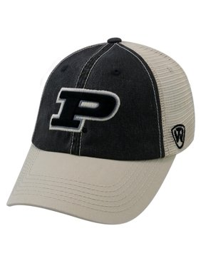 82caa8d1f6ac6 Product Image Purdue University Trucker Hat Offroad Vintage Mesh Cap. Top  of the World