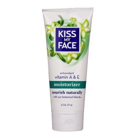 Kiss My Face Moisturizer Antioxidant Vitamin A & E, 6.0 FL OZ