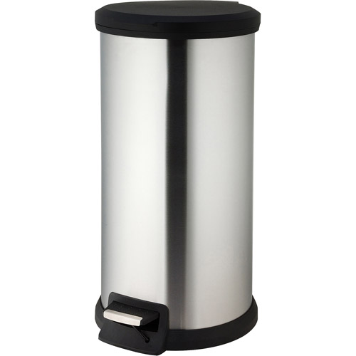 Canopy 30-Liter Round Step Can