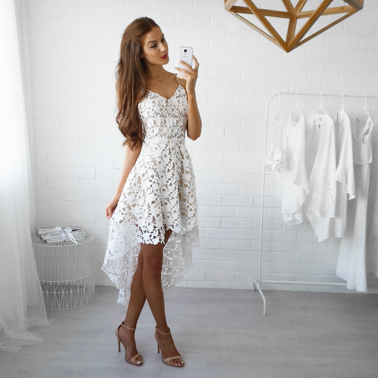 Women Summer Sleeveless Evening Party Cocktail Short Mini Lace Dress