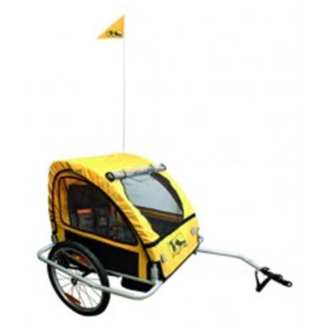 M-Wave 640092 Alloy Childrens Trailer with Suspension