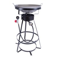 Stansport 217-100 Outdoor Stove with Wok - One Burner