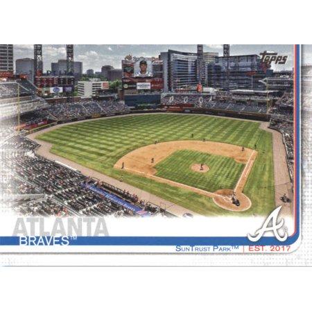 2019 Topps #71 SunTrust Park Atlanta Braves Baseball Card - *GOTBASEBALLCARDS