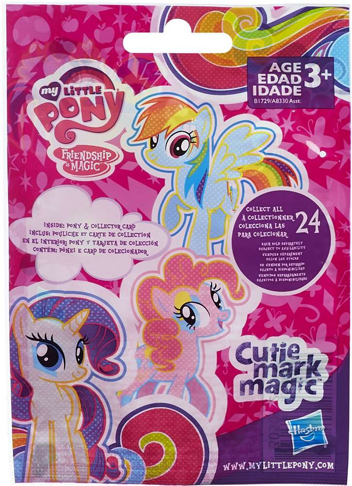 "My Little Pony My Little Pony PVC Series 11 2"" Mystery Pack by Hasbro"