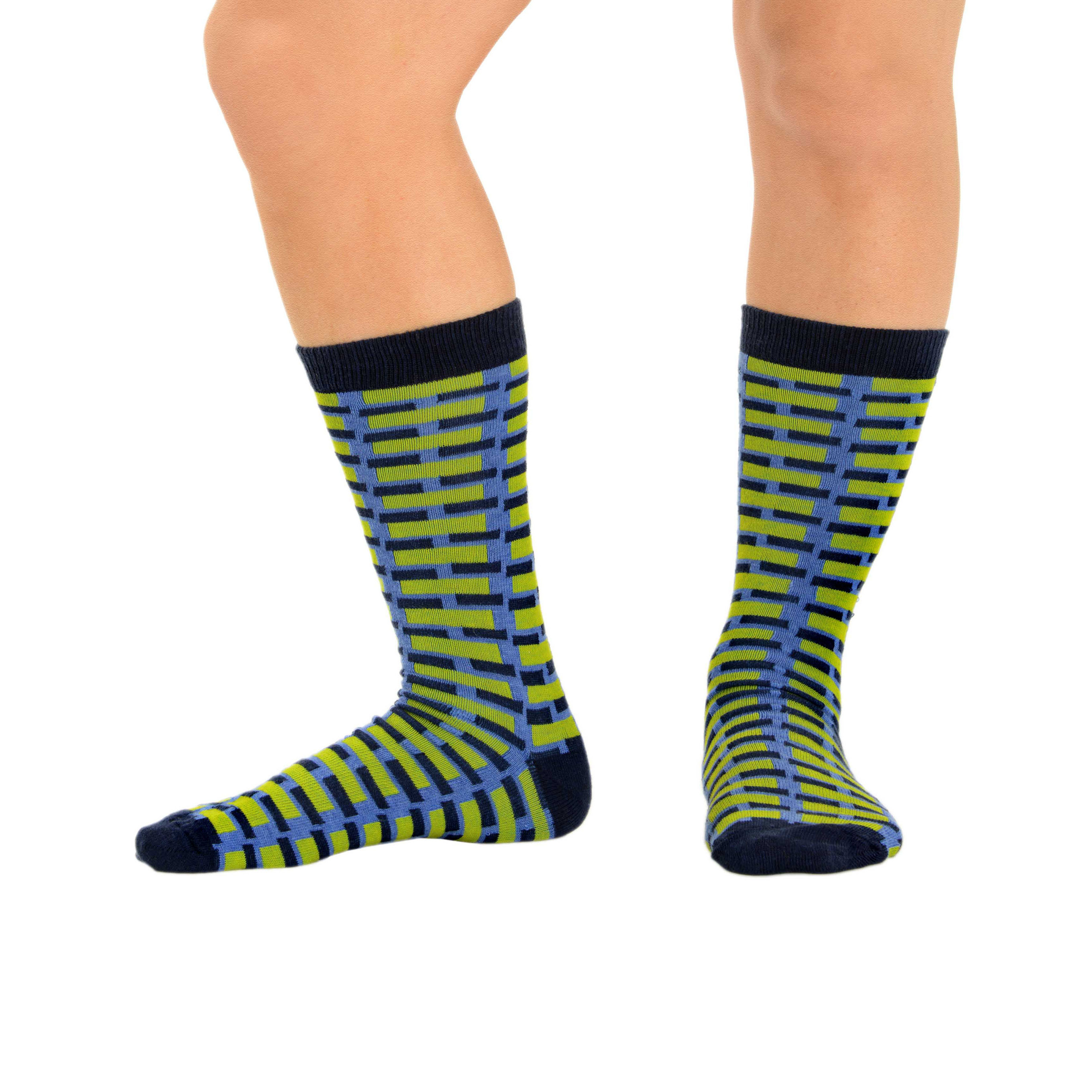 Crazy Crew Socks for Men Patterned Cotton Blend Dress ...