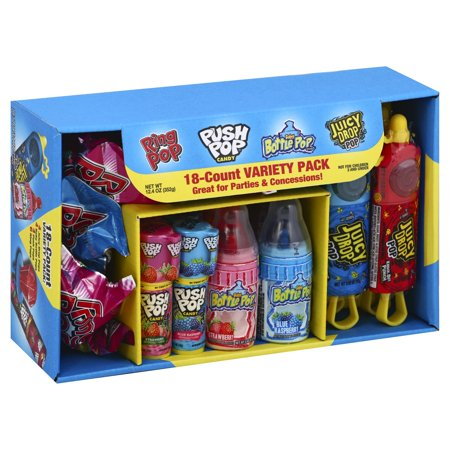 Ring Pop Assorted Candy Variety Pack, 12.4oz, 18 (Best Candy Coating For Cake Pops)