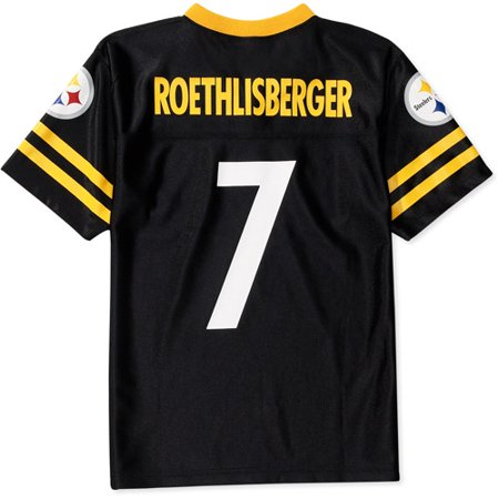 new style 2c213 3e8db NFL - Boys' Pittsburgh Steelers #7 Ben Roethlisberger Jersey