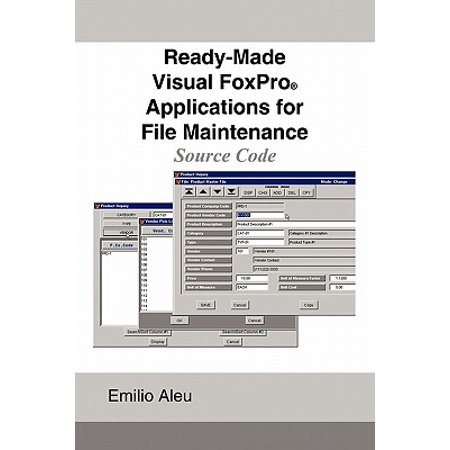 Ready-Made Visual FoxPro Applications for File Maintenance : Source - Toys On Fire Coupon Code