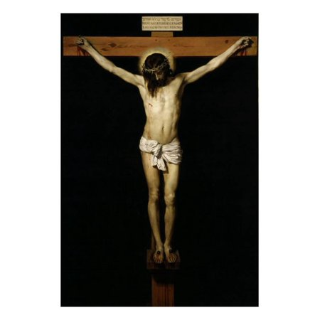 - Cristo Crucificado (Christ on the Cross) Print Wall Art By Diego Velazquez