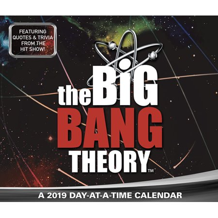 - 2019 The Big Bang Theory Box Calendar