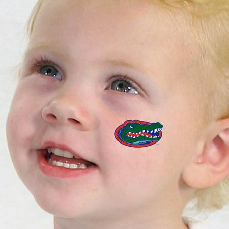 Florida Gators 4-Pack Waterless Temporary Tattoos - No Size - Alligator Tattoos