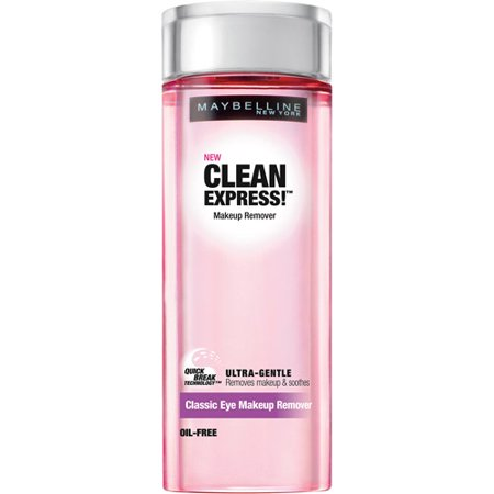 **Discontinued**Maybelline Clean Express! Classic Eye Makeup Remover, 4 fl oz