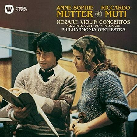 Mozart: Violin Concerto No. 2 & 4 (CD) ()