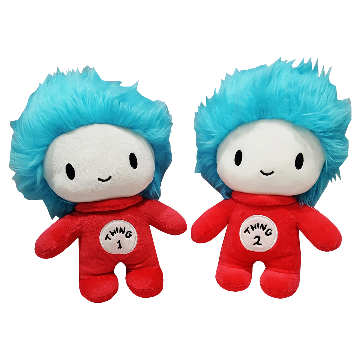 Cat In The Hat Dr Seuss Thing 1 And Thing 2 Plush Set By Universal