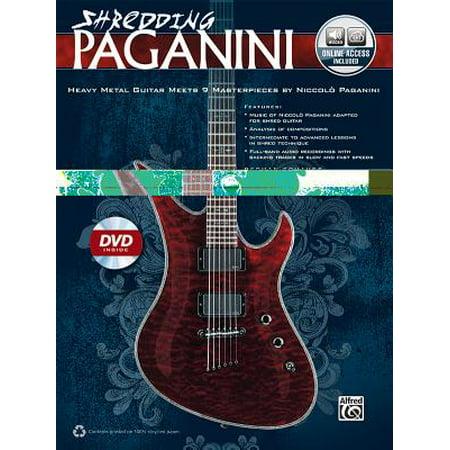 Shredding Paganini : Heavy Metal Guitar Meets 9 Masterpieces by Niccolo Paganini