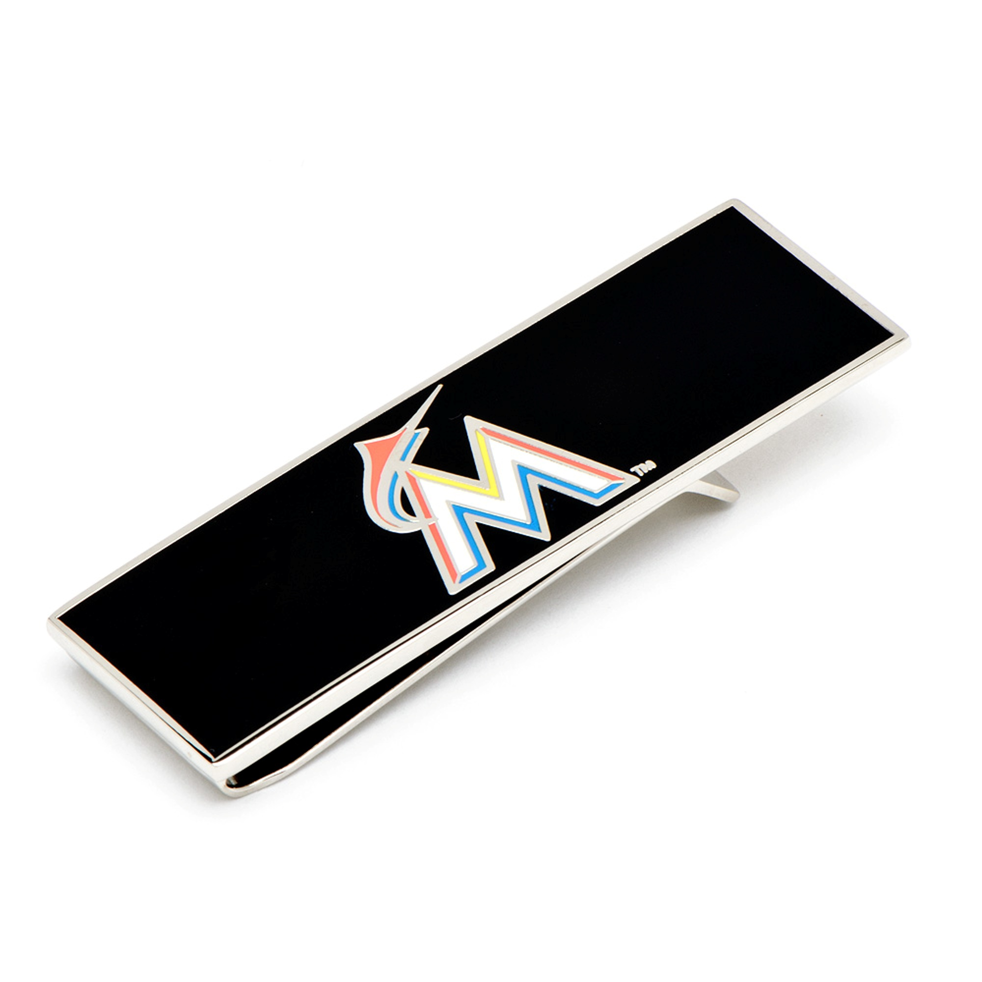 MLB Mens Miami Marlins Money Clip with Collectible Gift Box PD-MM-MC NEW