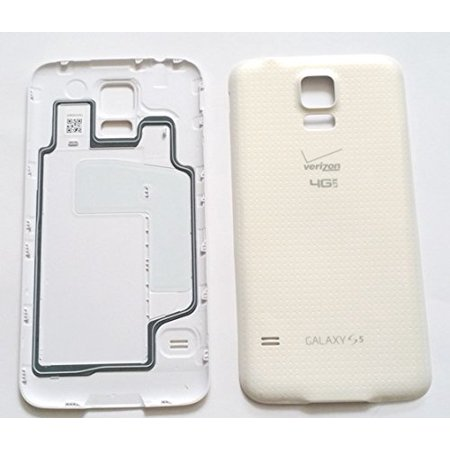 New Original Samsung Galaxy S5 G900V Battery Back Door Cover with Waterproof Seal and W/NFC ~ (Verizon - (Galaxy S5 Won T Charge With Original Charger)