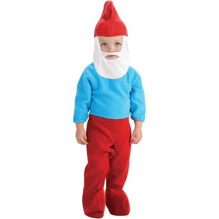 The Smurfs Baby Papa Smurf Young Children's - Papa Smurf Halloween Costume
