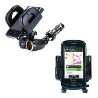 Dual USB / 12V Charger Car Cigarette Lighter Mount and Holder for the Pantech Laser