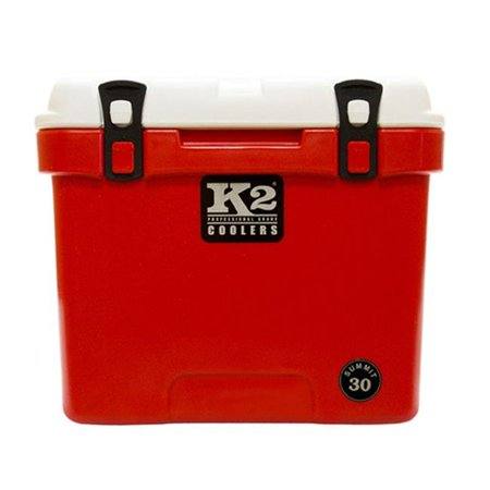 K2 - Summit Series S30RW 30 qt Summit, Red & White Lid
