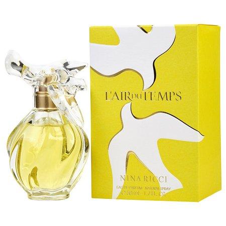 L'air Du Temps Eau De Parfum Spray 1.7 Oz By Nina (Best Temps Seaford De)