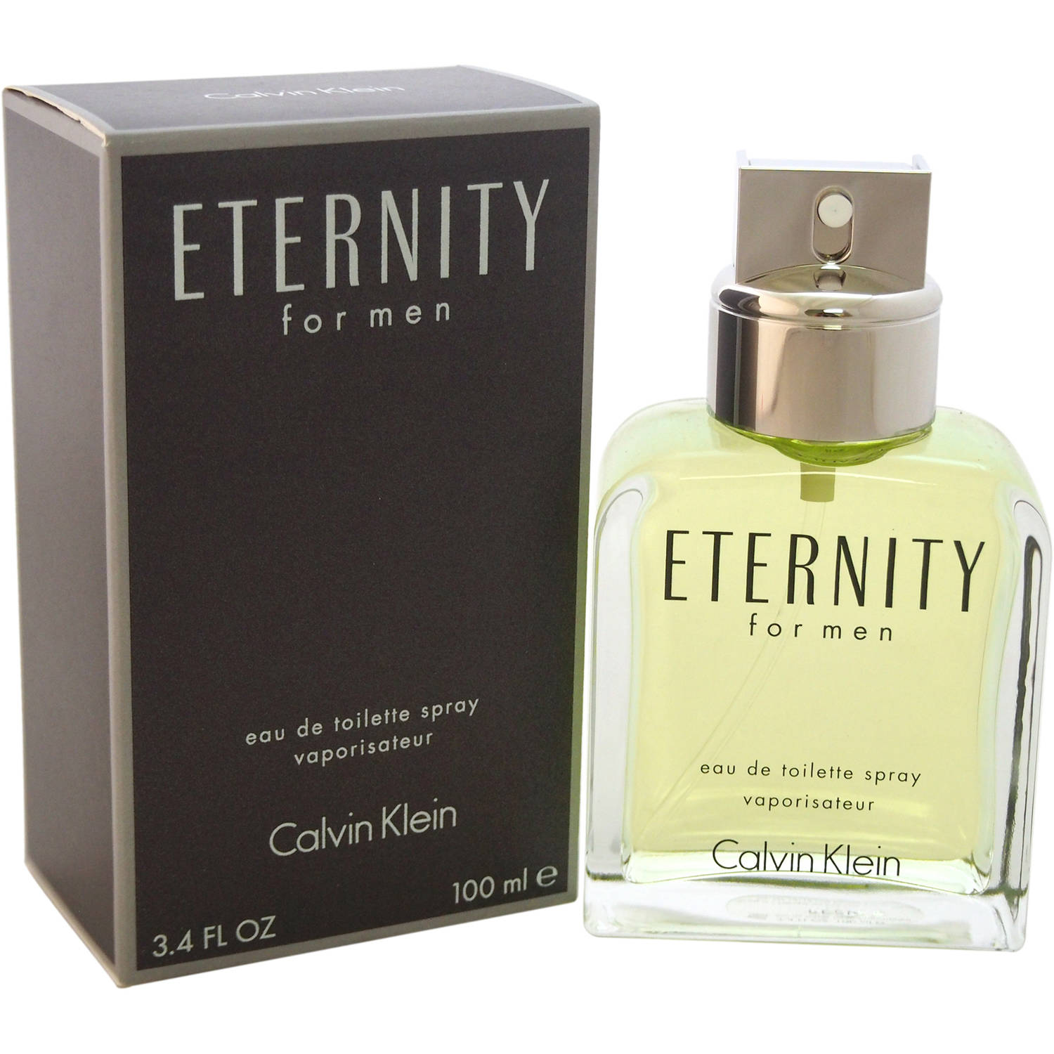 Calvin Klein Eternity for Men Eau de Toilette Spray, 3.4 fl oz
