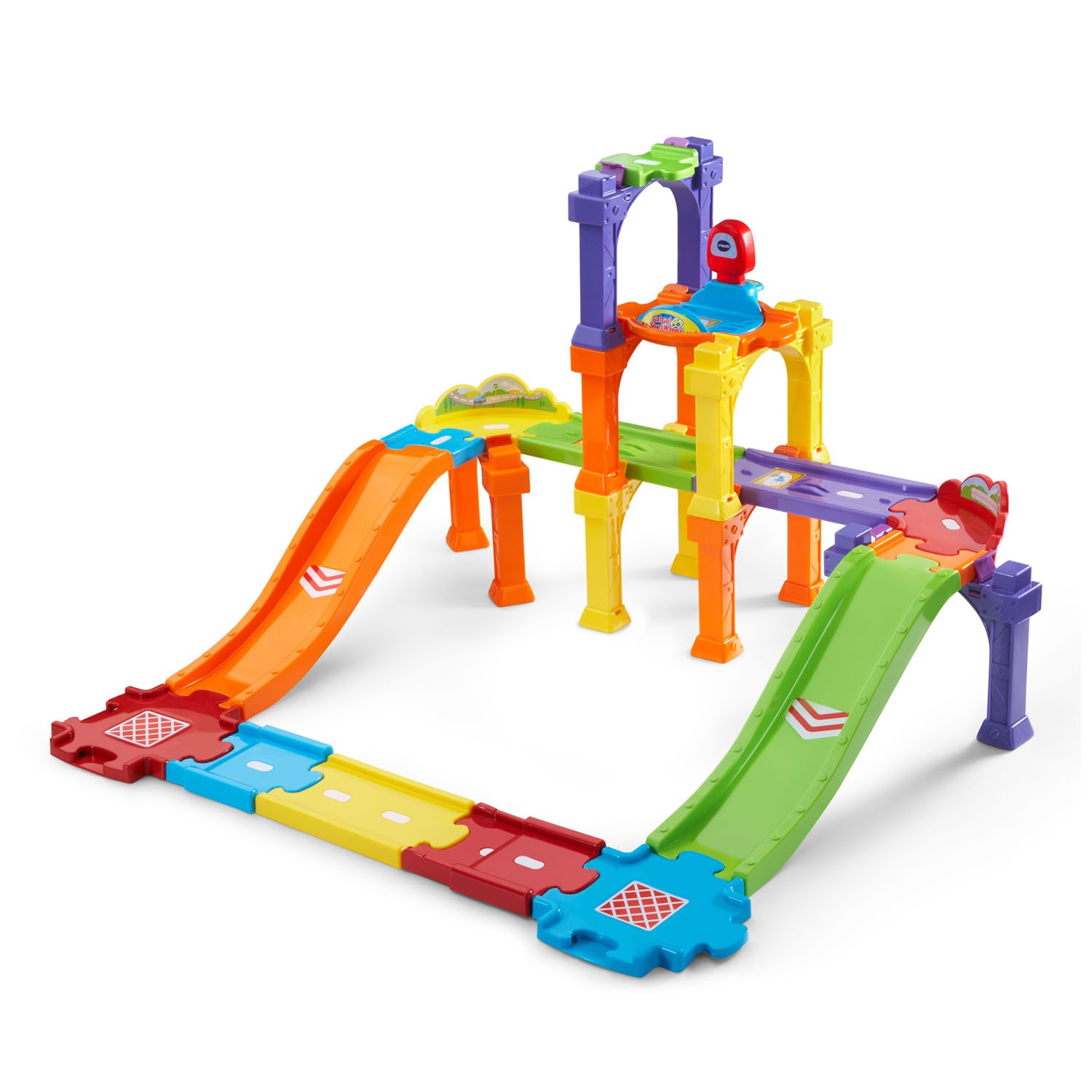 VTech Go! Go! Smart Wheels Levels & Ramps Track Set